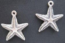 2 - Starfish Animal Water Fish Ocean Lucky Charms Earrings - NEW