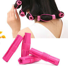 6Pcs Magic Sponge Foam Cushion Hair Styling Rollers Curlers Twist Hairstyle 1Set