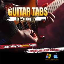 Guitar Lessons Led Zeppelin Songs Learn How To play Tablature + Tab Software