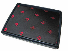Ralph Lauren Black Red Polo Skull Crossbones Aces Blank Diary Journal Notebook