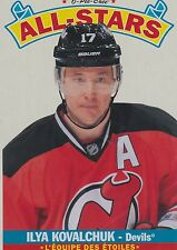 12-13 2012-13 O-PEE-CHEE ILYA KOVALCHUK ALL-STAR 18 WRAPPER REDEMPTIONS DEVILS