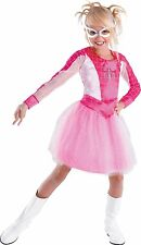 The Amazing Spider-Man Spider Girl Classic Costume Size  4-6 PINK NWT 50236