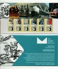 POSTAL MUSEUM ROYAL MAIL HERITAGE BPMA PRESENTATION PACK Post Go TYPE 2 MARCH 16
