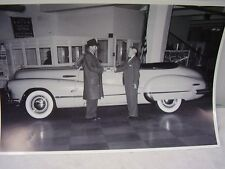 1947 BUICK ROADMASTER CONVERTIBLE  12 X 18 LARGE PICTURE   PHOTO