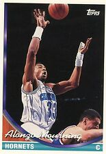 1992/1993 TOPPS #170 ALONZO MOURNING - CHARLOTTE HORNETS - FREE SHIPPING