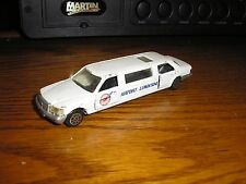 RARE Vintage Road Champs 1/64 ? 5 inch Mercedes-Benz Stretch Airport Limousine