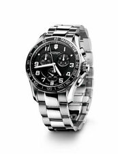 NEW  Victorinox Swiss Army Chrono Classic  Quartz SS 241494 chronograph watch
