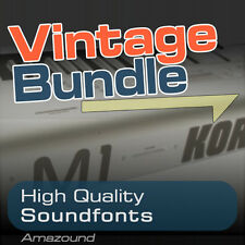 M1 + 01W + X5 SOUNDFONT COLLECTION BUNDLE 400 .sf2 FILES 5424 SAMPLES 3.8GB