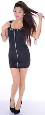 BLACK CUT OUT BEJEWELED BODYCON DRESS SIZE M