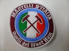 Quelli del WEST HAM SCIARPA MAGLIA INGLESE scarf Di Canio MARTELLI D'ITALIA