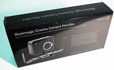 Blackmagic Cinema Camera Handles - Solid Aluminum With Easy Grips - New in Box!