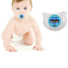 EW DIGITAL DUMMY SOOTHER PACIFIER BABY TODDLER CHILD ORAL THERMOMETER PORTABLE