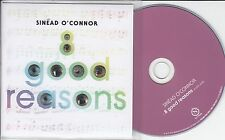SINEAD O'CONNOR 8 Good Reasons 2014 UK 1-track promo CD