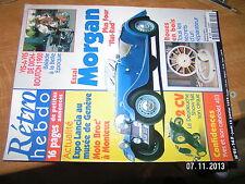 Retro Hebdo n°95 Morgan De Dion-Bouton 1900 Roue en Bois