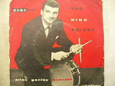 ALLAN GANLEY QUARTET + ART ELLEFSON  rare ep THE HIGH PRIEST saga 7010