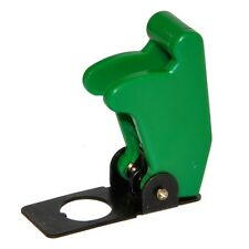 Flip Up Aircraft Style 12v/24v Toggle Switch Cover Guard - GREEN