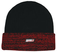 Case IH Agriculture *BLACK & RED* TRADEMARK LOGO Stocking KNIT CAP *NEW!*