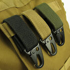 Tactical Molle Hanging Belt Carabiner KeyHook Webbing Buckle Strap Clip Backpack