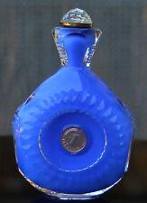 Schweres Schnupftabakglas - Pfennigbixl in blau !!! Mundgeblasen !! Nr. 76