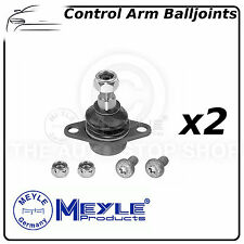 BMW X5 Meyle Front Suspension Lower Control Arm Ball Joints (Pair) 3160100002