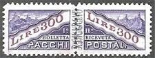 * San Marino 1953: PACCHI Lire 300 [36; MVLH XF] €180/270€ Lusso Centrato