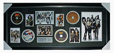 KISS - Photos and Cds ~  Limited Edition Framed Music Memorabilia
