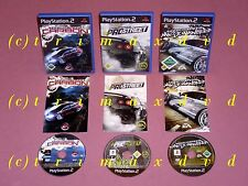 3xps2 _ Need for Speed Most Wanted & Need for Speed Pro Street & need F.S. CARBONIO