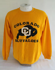 Vintage Colorado Buffaloes CU Hanes Sweatshirt Made in USA, Sz L, Used!