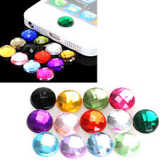 10x Rhinestone Bling Home Button Stickers for Apple iPod iPhone 3GS 4G 4S 5 5G N
