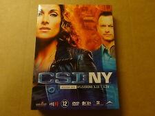 3-DISC DVD BOX / CSI: NY - SEIZOEN 3 - AFLEVERINGEN 3.13 - 3.24 ( DEEL 2 )