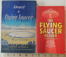 1954 Aboard A Flying Saucer Non-Fiction Book