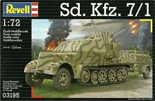 Revell 1/72 Sd Kfz 7/1 Armoured Half Track with 20mm Flak38