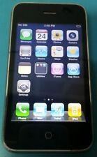 Apple iPhone 3G 16GB Black AT&T Smartphone Good Cosmetics iPhone ONLY