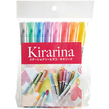 Kirarina 2win Water-Based Markers 8/Pkg-Assorted