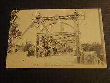 CPM Reproduction Arles Entrée du Pont de Trinquetaille
