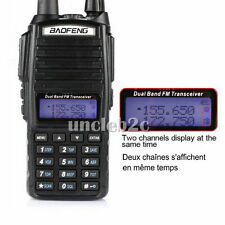 Baofeng UV-82L VHF/UHF 136-174/4​​00-520MHz Ham 2 way Radio Walkie Talkie Neuf