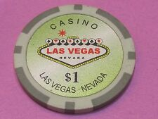 $1 Las Vegas poker chip card protector ball marker..combine shipping save $$$$