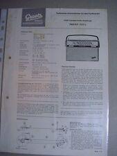 C690/ Graetz Radio Kundendienst;  UKW Transistor Koffer Empfänger Pagino 1333 L