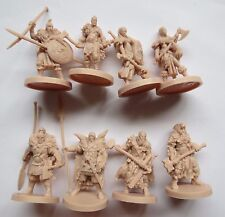 8 Barbarians /norse blood rage studio Mcvey Guillotine games boardgame figs