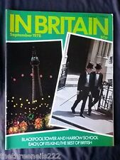 IN  BRITAIN - SEPT 1978 - BLACKPOOL TOWER & HARROW SCHOOL
