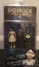NECA BIOSHOCK 2 YOUNG ELEANOR & LITTLE SISTER ACTION FIGURE - BRAND NEW & SEALED