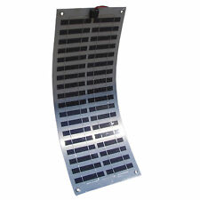 15W Flexible Solar Electric Panel 12V DC Battery Charger for Cars Boats etc.