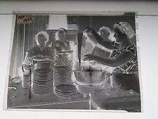 VTG.1949 PHOTO NEGATIVE WESTERN MASS. WOMEN SERVING SPAGHETTI DINNER 020