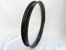 "24""x2 1/4"" 57mm wide Rim Anodized Black Fat Bike Bicycle Chopper Beach Cruiser"