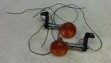 1984 Suzuki GS450L GS 450 L S588' rear turn signals blinker set pair