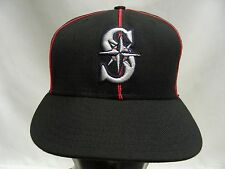SEATTLE MARINERS - MLB - WOOL - NEW ERA 59FIFTY SIZE 6 7/8 FITTED BALL CAP HAT!