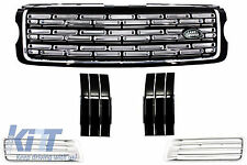 Range Rover Vogue L405 Autobiography Central Grille & Side Vents Air Ducts Black