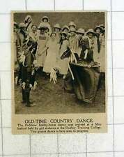 1920 Padstow Hobbyhorse Dance Revived Dudley Training College Students