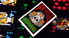 Bicycle Tattoo Deck - Funky Black Face Bicycle Cards - Collectible Cards