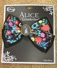 Disney Alice In Wonderland Key Hole Cosplay Hair Bow Tie Hair Clip Gift NWT!